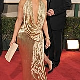 Jennifer Lopez at the 66th Annual Golden Globe Awards