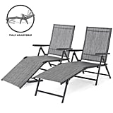Best Choice Products Adjustable Lounge Chairs