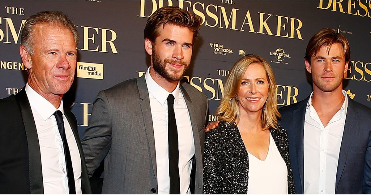 The Hemsworth Family At The Dressmaker Australian Premiere