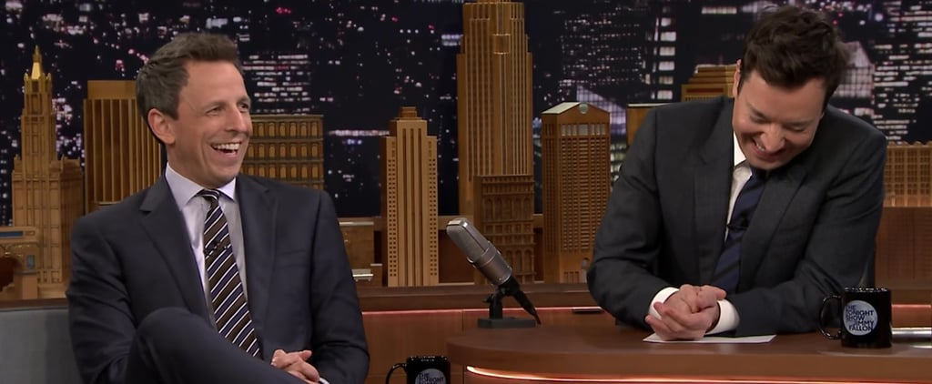 Jimmy Fallon and Seth Meyers Prove the Funniest Moments Happen During Commercial Breaks