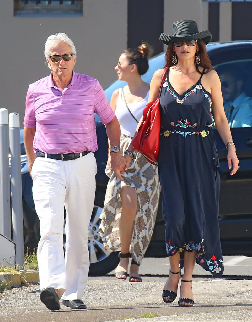 Michael Douglas and Catherine Zeta-Jones in France June 2016