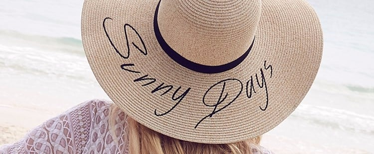 14 Slogan Sun Hats to Top Off Your Instagram-Ready Beach Look