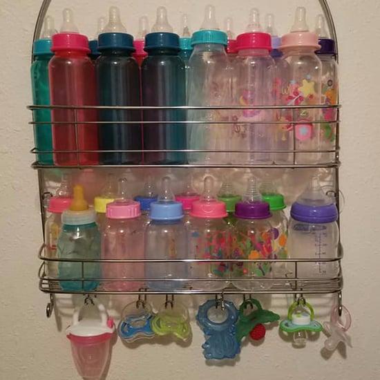 Bottle Storage Hack