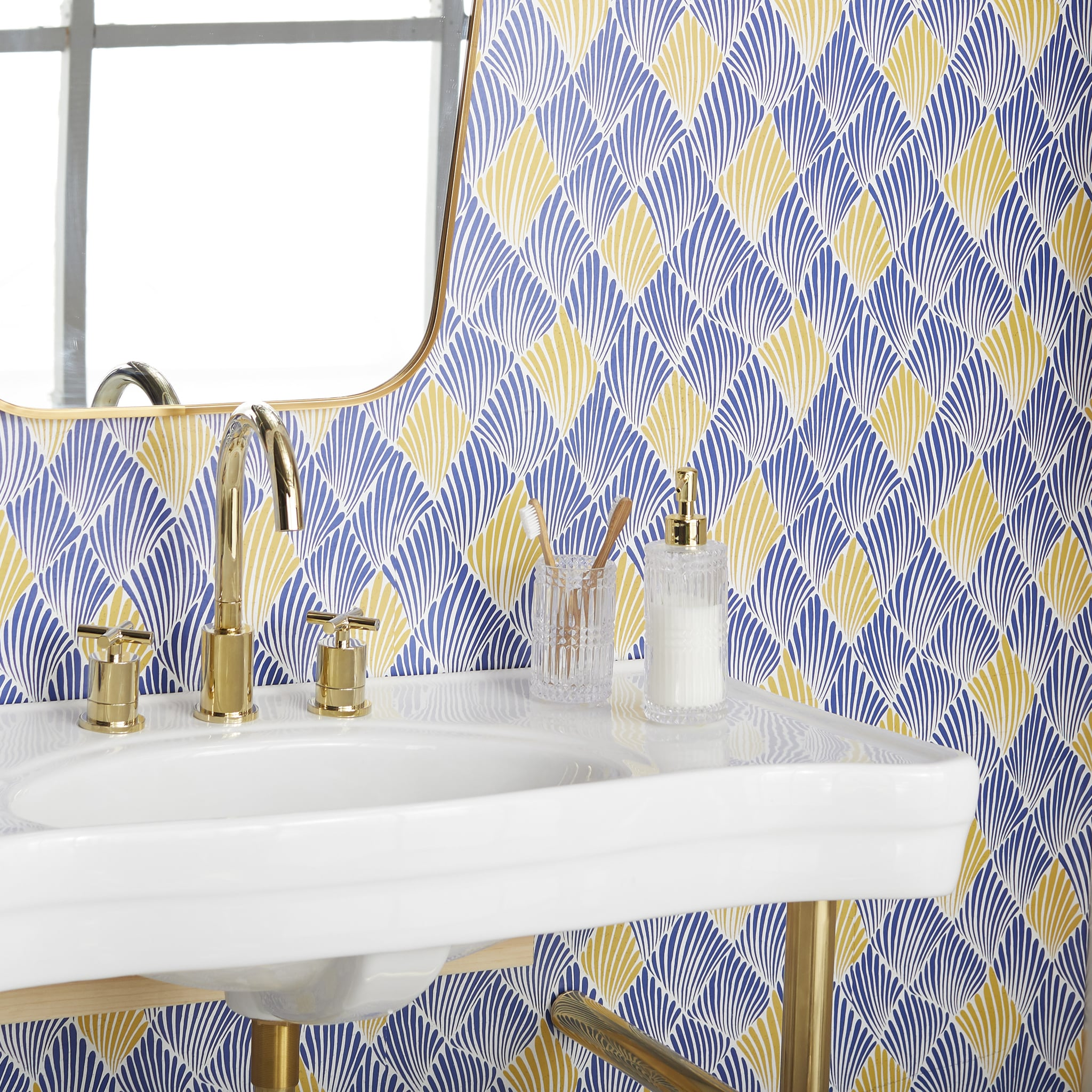 Drew Barrymore S Home Line Has Cute Peel And Stick Wallpaper Popsugar Home