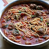 Weeknight Spaghetti and Meatballs