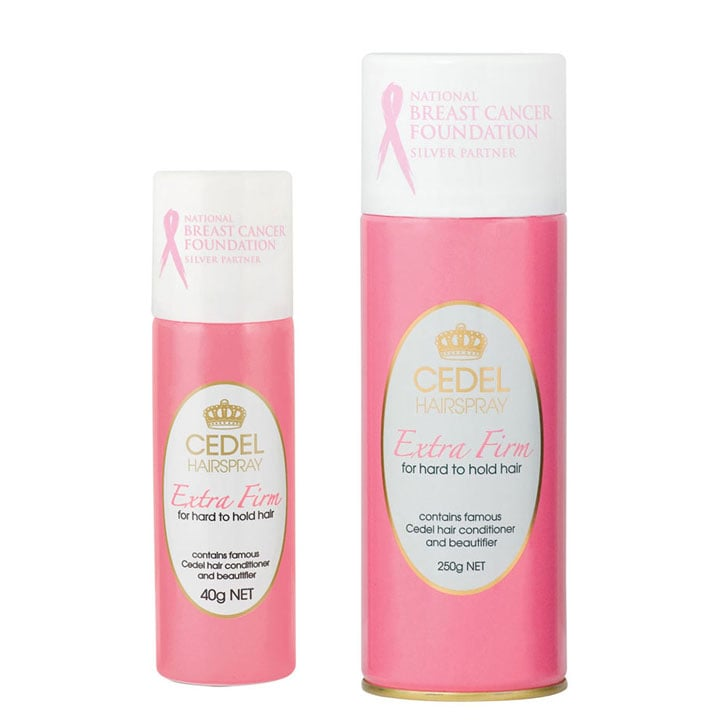 Cedel Extra Firm Hairspray, $3.99-$5.45