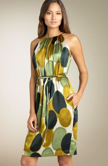 Fab Finger Discount: Maggy London Print Charmeuse Halter Dress