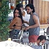 Kit Harington Is Still Shirtless, Still Flirting With Women in Brazil