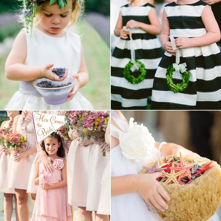 Alternative Ideas For Flower Girl Petal Toss | POPSUGAR Moms