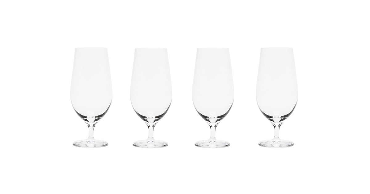 Wedding Gifts For The Couple Who Has Everything: Orrefors Crystal Lager Glasses