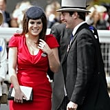 Princess Eugenie and Jack Brooksbank shared a laugh during the 2011 Royal Ascot.
