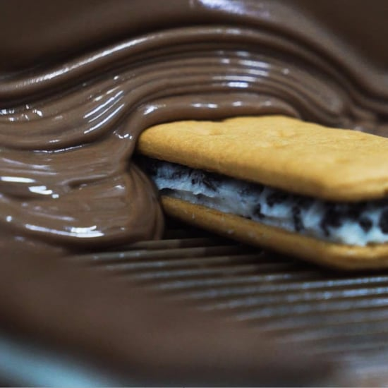 Video of Messina Being Made Into Tim Tams
