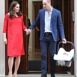 Prince William and Kate Middleton Holding Hands April 2018