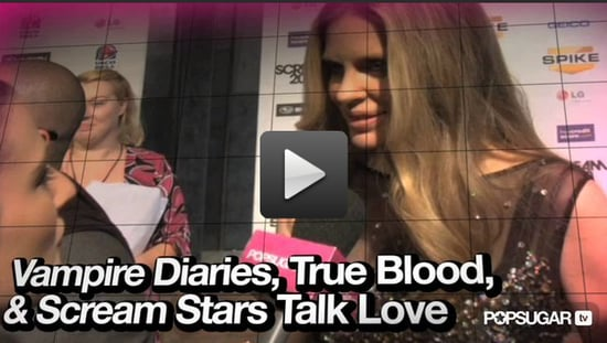 Video of True Blood and The Vampire Diaries Stars at the 2010 Spike Scream Awards