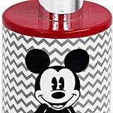 Chevron Mickey Mouse Soap Dispenser
