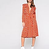 Polka Dot Midi Dress by Glamorous