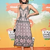 Zendaya Is a Modern-Day Flapper at the Kids' Choice Awards