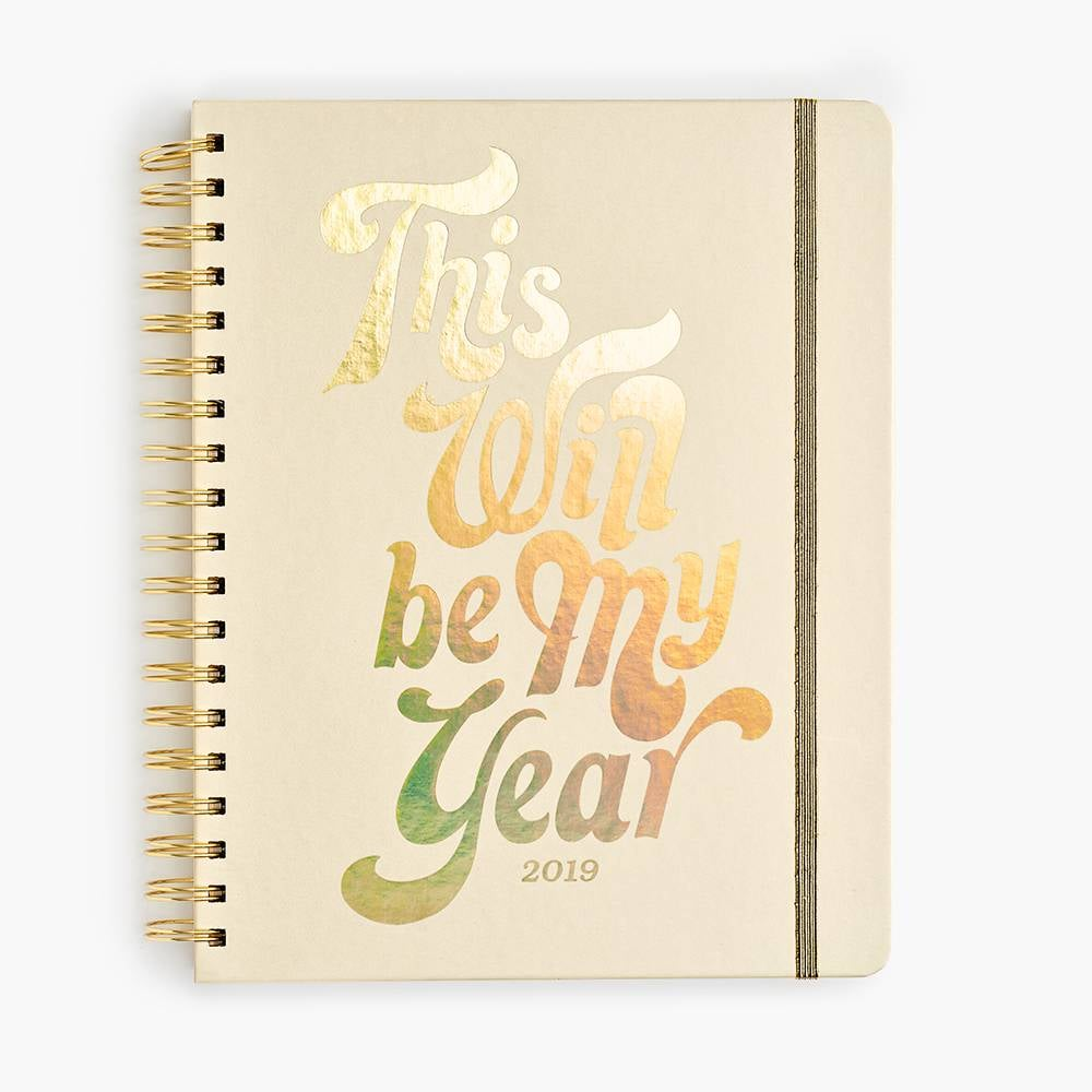 2019 This Will Be My Year Planner
