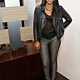 Hannah Bronfman isn't wearing boyfriend jeans yet but is into iOS 7. Weird.