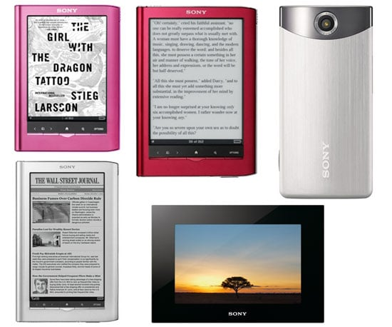 Sony's New Streaming Service, Bloggie Camcorders, and Readers
