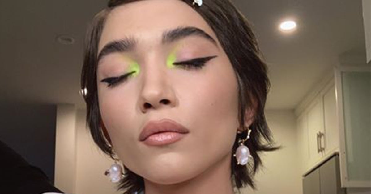 Rowan Blanchard is Wearing Summer's Hottest Color Trend on Her Eyes