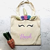 Personalized Easter Tote With