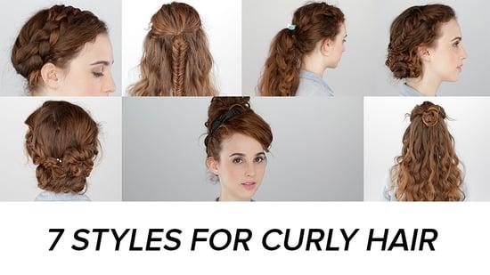 Brilliant Curly Hairstyle Tutorials Popsugar Beauty Short Hairstyles Gunalazisus