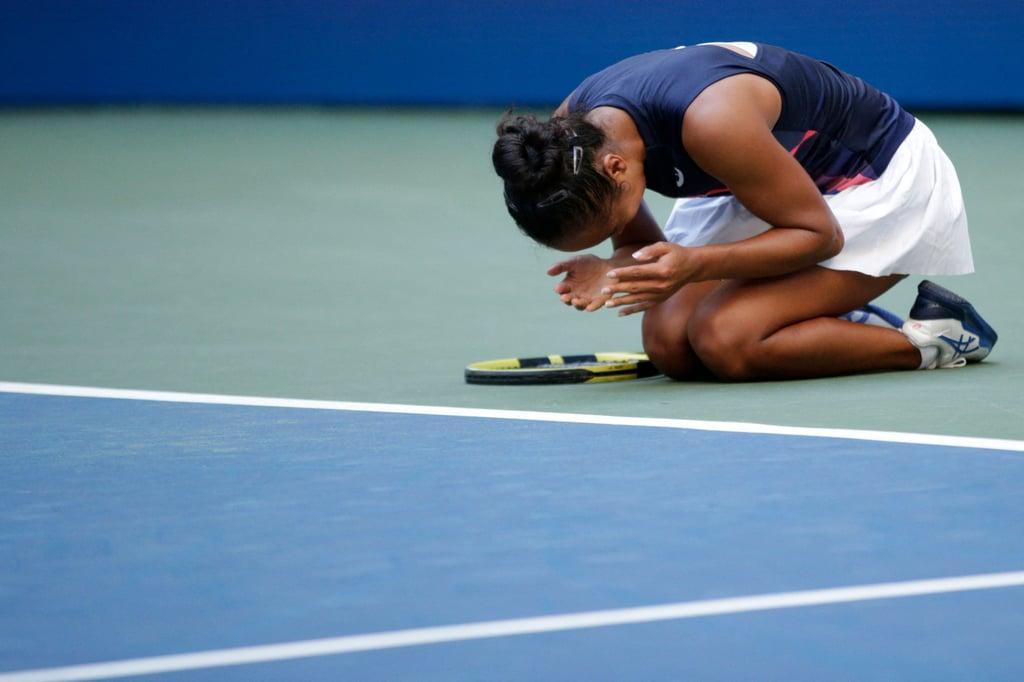 Watch Leylah Fernandez's Reaction Advancing to US Open Semis