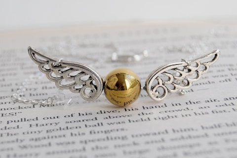 Golden Snitch Necklace ($29-$31)