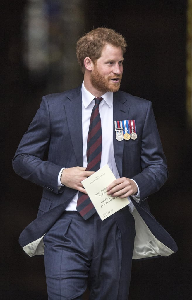 Prince Harry Facial Scruff Pictures October 2015