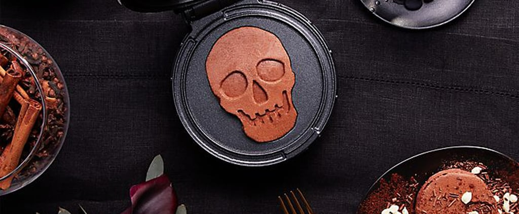 This ​Mini Skull Waffle Maker Is Perfect For Halloween