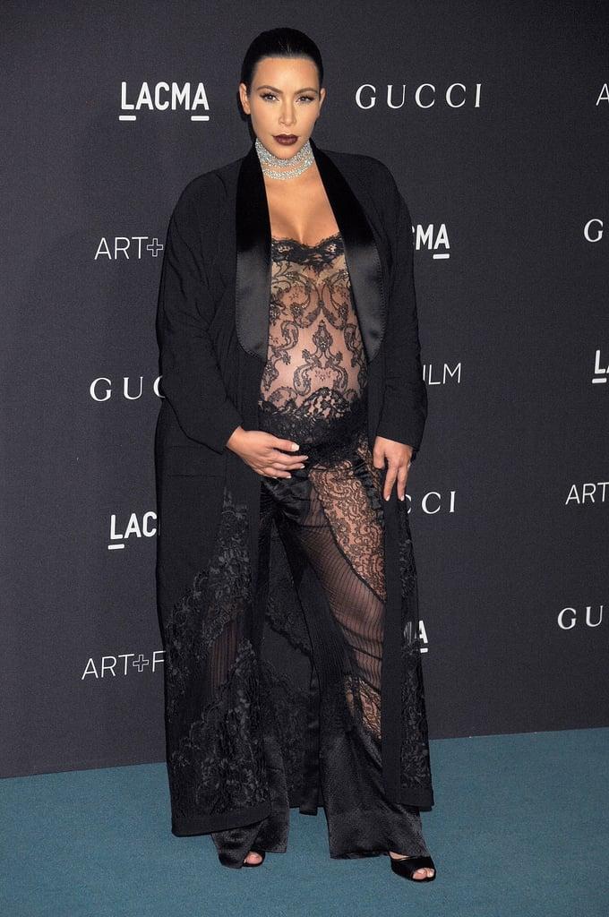 Kim Kardashian Pregnant Pictures 2015 | POPSUGAR Celebrity