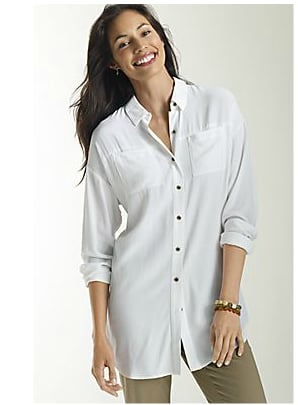 The White Blouse — but Silky Soft