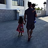 "Sarah Michelle gave her husband a thoughtful Father's Day shout-out in June 2015, saying, ""And the sun is setting on a very successful #FathersDay Thank you #FreddiePrinzeJr for showing me what #TrueLove looks like. I loved you before children, but that love has intensified. Thank you for making my children the #luckiest."""