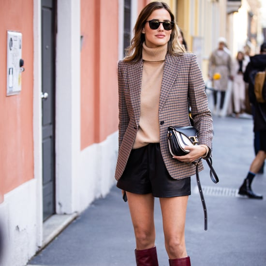 The Best Faux-Leather Shorts For Women