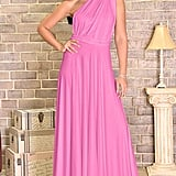 KOH KOH Long Convertible Wrap Maxi Dress
