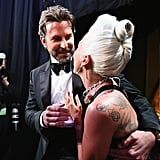 Pictured: Bradley Cooper, Celebrities, and Lady Gaga