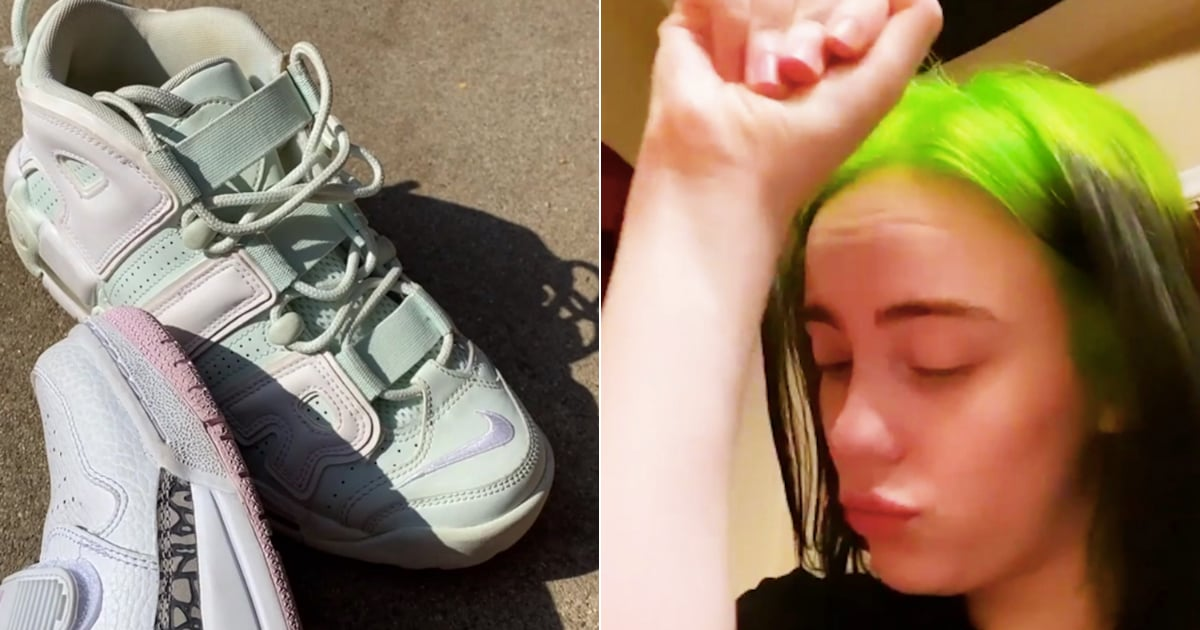 Billie Eilish Stresses Over the Color of Her Sneakers, and It Will Make You Crack Up