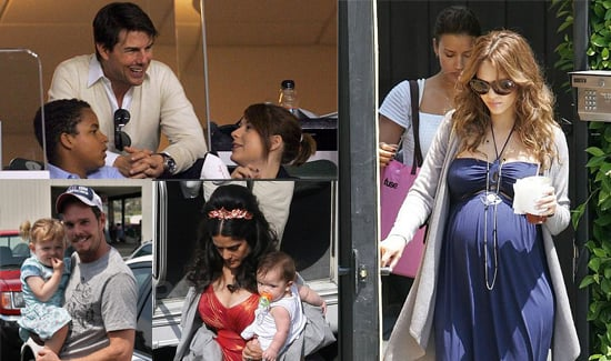 Celebrities and Their Babies Over the Weekend