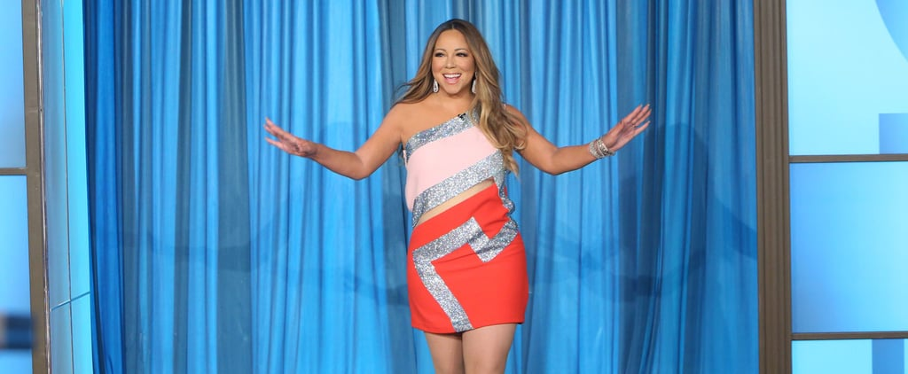 Mariah Carey Looks Amazing While Surprising the Audience on The Ellen DeGeneres Show