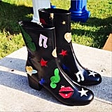 Including these funky boots