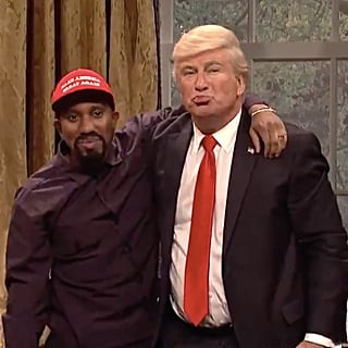 Alec Baldwin Donald Trump Kanye West SNL Skit 2018