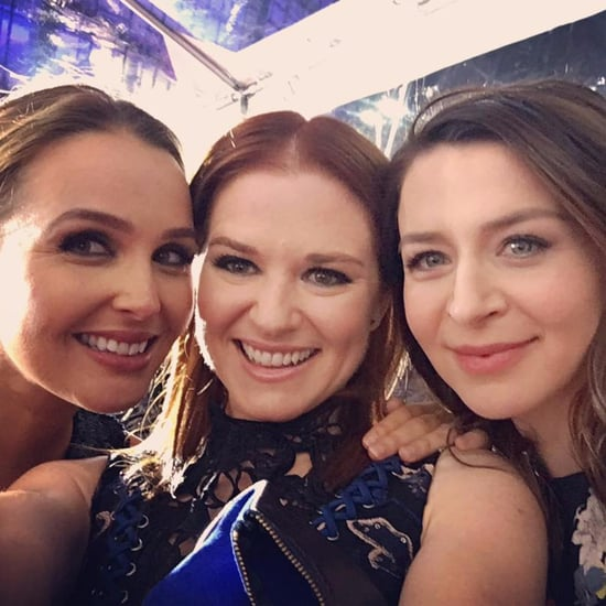 The Grey's Anatomy Cast at the 2017 People's Choice Awards