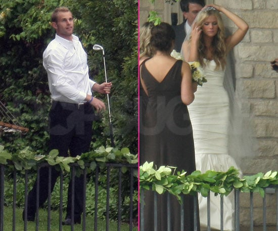 Photo of Andy Roddick and Brooklyn Decker Before Their Wedding in Austin, TX