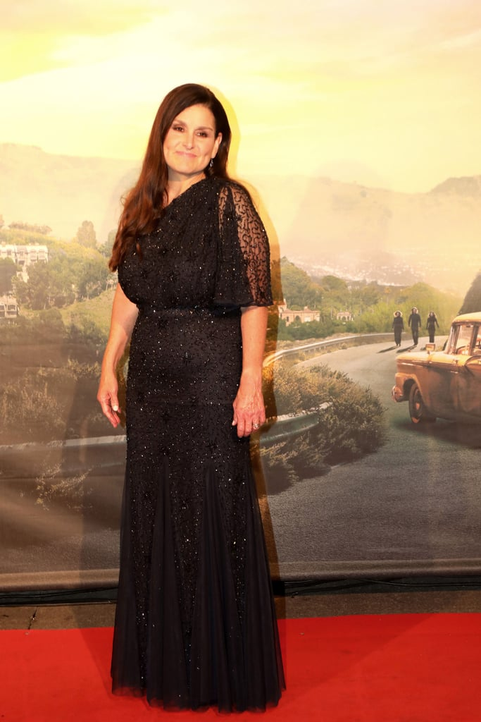 Shannon McIntosh at the Once Upon a Time in Hollywood premiere in Rome.