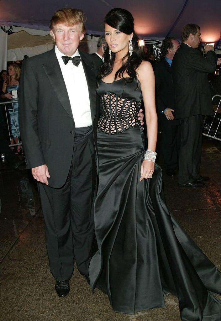 Melania Trump at the 2004 Met Gala