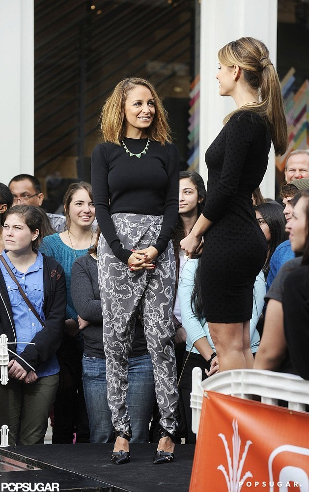 Nicole Richie Rocks a Daring Look Out in LA