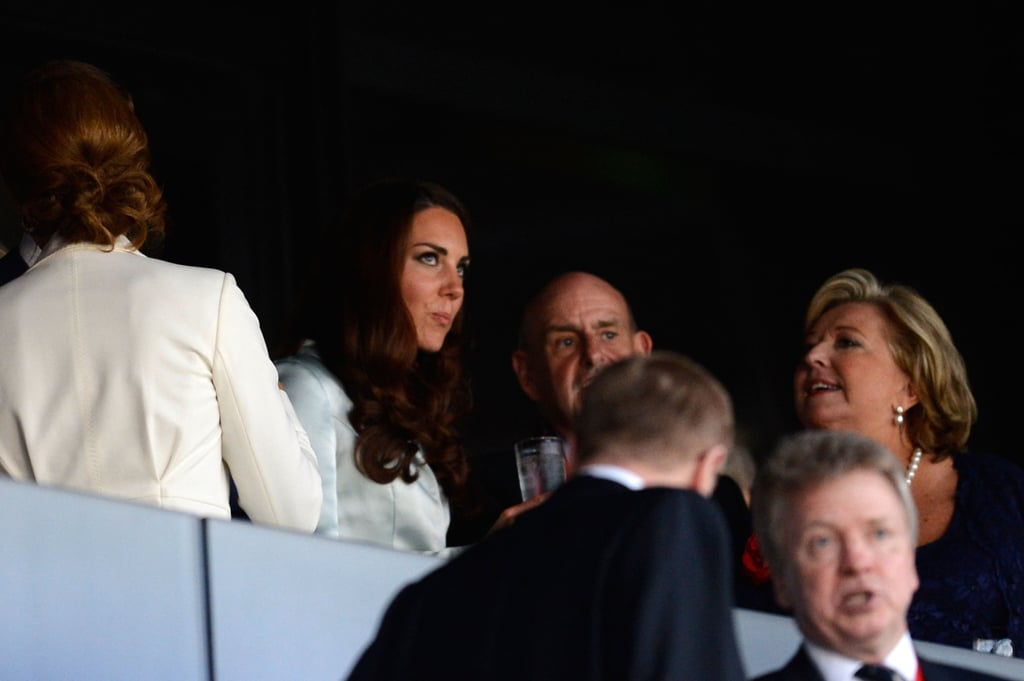 Kate Middleton attended the opening ceremony