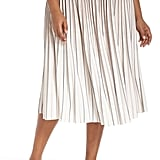 Nic + Zoe Stripe Pleat Skirt