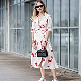 Carry a Mini Bag With Your Printed Dress